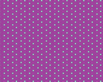 True Colors - Tula Pink - Hexy - Thistle - Fat Quarter or Yardage Cotton Quilt Fabric K