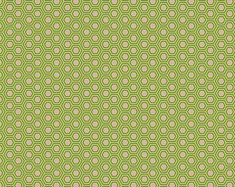 True Colors - Tula Pink - Hexy - Juniper - Fat Quarter or Yardage Cotton Quilt Fabric K