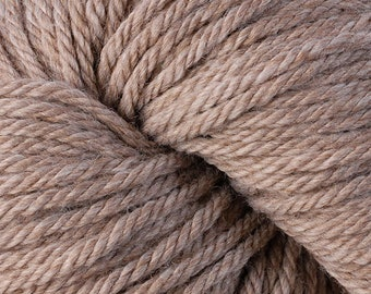 Tan Oats 6105 Lot 208571 Berroco Vintage Chunky Wool Yarn