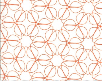 SALE Quotation by Zen Chic - Outline Cream Clementine 1733 15 Select a Size - FQ, half or full yard- Moda Cotton Quilt Fabric K