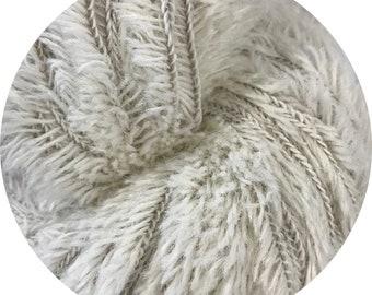 baby yeti by Big Bad Wool - natural baby yeti - chunky yarn - baby alpaca and fine merino - 109 yards