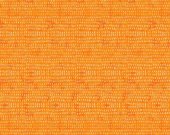 Seeds by Cori Dantini  - Orange CD012.XORANGE  - Cotton Quilt Fabric - Fat Quarter fq BTHY By the half yard