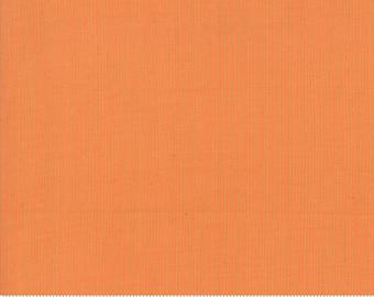 Grainline Wovens by Jen Kingwell for Moda - Grainline - Persimmon - Orange - 18180 12 - Select a Size - Cotton Quilt Fabric