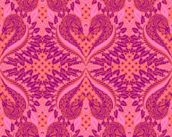 Pinkerville by Tula Pink for Free Spirit - Gate Keeper - Cotton Candy - Cotton Quilt Fabric - Choose Your Size 8-21+B