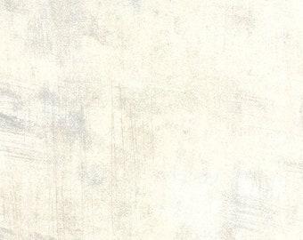"108"" Grunge Creme White by Basic Grey for Moda - 11108 270 - 1/2 Yard - 100% Cotton Quilt Back Fabric"