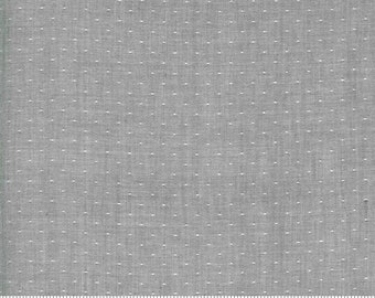 Low Volume Dot Silver Grey Woven 18201 17 by Jen Kingwell for Moda - FQ Fat Quarter BTHY Yard - Cotton Quilt Fabric