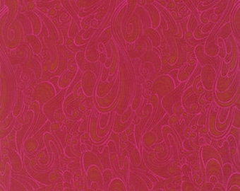 OOP True Colors by Tula Pink - Making Waves - Sienna - FQ Fat Quarter yard cotton quilt fabric 921