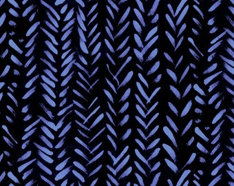 The Blue One by Marcia Derse -  WHEAT 52044  5 Blue Bell  - 100% Cotton Quilt Fabric FQ BTHY Yard 8-21