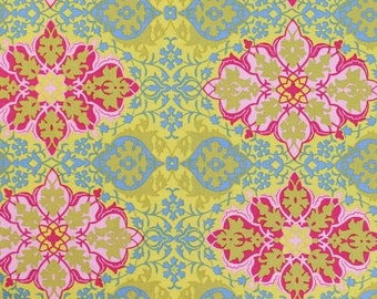 Nostalgia by Jennifer Paganelli for Free Spirit - Hillary - Gold - 1/2 yard cotton quilt fabric
