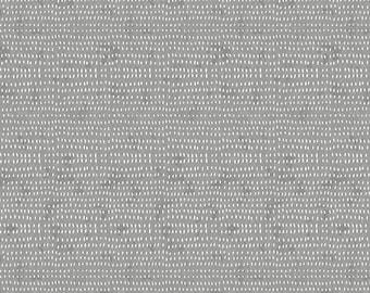 Seeds by Cori Dantini  - Grey Fog CD012.XFOG  - Cotton Quilt Fabric - Fat Quarter fq BTHY By the half yard