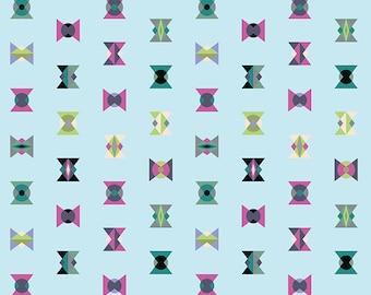Tula Pink Acacia - Winter Sky Arrowheads - 1/2 yard cotton quilt fabric 8-21