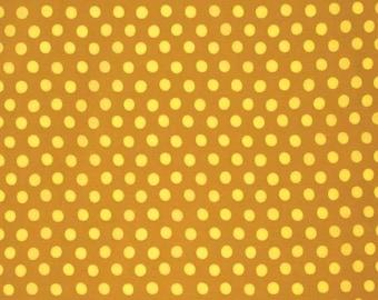 Kaffe Fassett - Spot GP70 Ochre Yellow Gold - Cotton Quilt Fabric - FQ Fat Quarter BTHY Yard 1021