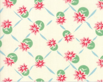 SALE by Urban Chiks for Moda - Giggles - Petal - Light Pink - Sweet Cream - 100% Cotton Quilt Fabric - Choose your Size