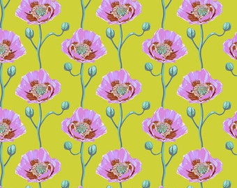 Bright Eyes by Anna Maria Horner for Free Spirit - Cheering Section - Sunny - FQ BTHY Yard - Cotton Quilt Fabric 9-21