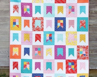 Celebrate Quilt Pattern by Cluck Cluck Sew - Print Pattern