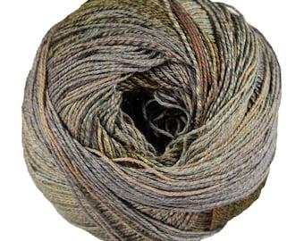 Medina by Berroco Yarns - Sport / DK Weight Cotton Blend Self Striping Yarn - 295 Yards