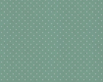 Add It Up by Alexia Abegg of Ruby Star Society for Moda - Basic Dots - Soft Aqua - RS4005 33 - Select a Size - Cotton Quilt Fabric