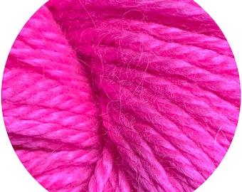 Tula weepaca by Big Bad Wool - light worsted yarn - 50% fine washable merino and baby alpaca - 95 yards