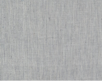 Low Volume Weave Silver Grey Woven 18201 14 by Jen Kingwell for Moda - FQ Fat Quarter BTHY Yard - Cotton Quilt Fabric