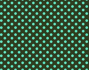 All Stars by Tula Pink for Free Spirit - Pom Poms - Fern - Cotton Quilt Fabric - Choose Your Size