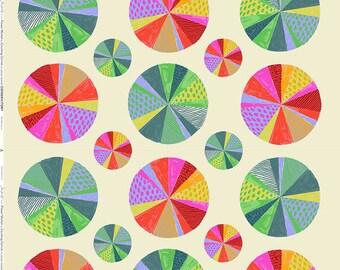 Flower Market by Courtney Cerruti - Anna Maria's Conservatory by Free Spirit - Spectrum - Cotton Quilt Fabric BTHY Yard 9-21