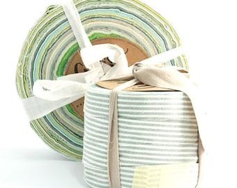 Shades of Green - Aino Rag Rug yarn by Lankava