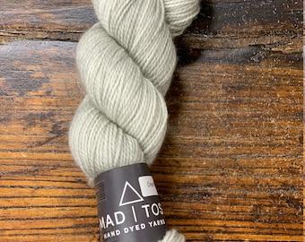 Dried Rosemary E Farm Twist by Mad Tosh Yarns Madelinetosh  - Skein of Hand-Dyed DK Weight 100% Superwash Merino Wool