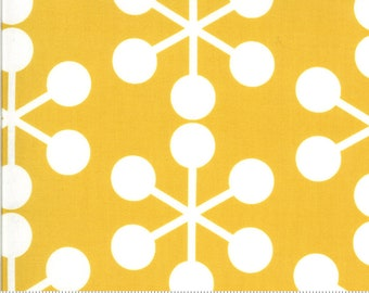 SALE Quotation by Zen Chic - Asterisk Mustard 1731 19 Select a Size - FQ, half or full yard- Moda Cotton Quilt Fabric K