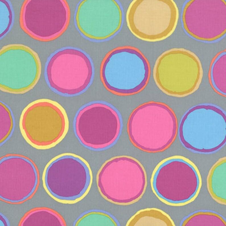 1//2 yarda Kaffe Fassett Selva-púrpura Algodón tejidos de acolchar
