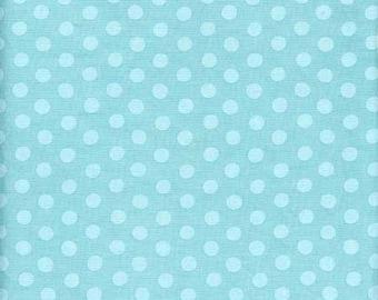Kaffe Fassett - Spot GP70 Duck Egg - Cotton Quilt Fabric - FQ Fat Quarter BTHY Yard 1021