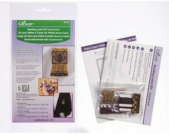 CLOVER Beading Loom Kit - Tulip Brooch - 9918