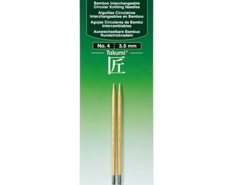 Interchangeable Circular Knitting Needles by Clover - Various Sizes
