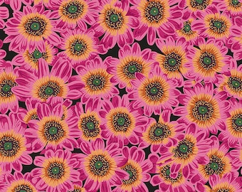 Kaffe Fassett Collective - Philip Jacobs - August 2021 - Lucy - Magenta - PWPJ112.MAGENTA - Select a Size - 100% Cotton Quilt Fabric