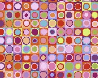 Kaffe Fassett Collective Stash by Kaffe Fassett for Free Spirit - Tiddlywinks - Red - Cotton Quilt Fabric - FQ BTHY Yard 921