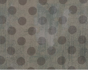 """Pre-Cut 108"""" Grunge Hits Spot Grey Couture by Basic Grey for Moda - 11131 33 - 3 Yard Piece - 100% Cotton Quilt Back Fabric 8-21"""
