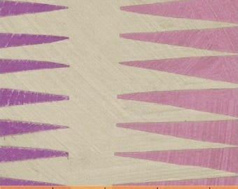 Dreamer by Carrie Bloomston for Windham Fabrics - Pueblo Stripe - Orchid Purple & Rose Pink - FQ BTHY Yard Cotton Quilt Fabric 8-21