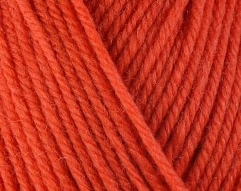 Orange Nasturtium 3336 Lot 7D6953 Berroco Ultra Wool Yarn