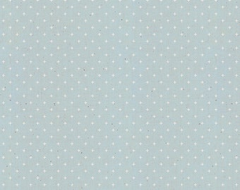 Add It Up by Alexia Abegg of Ruby Star Society for Moda - Basic Dots - Polar - Light Blue - RS4005 39 - Select a Size - Cotton Quilt Fabric
