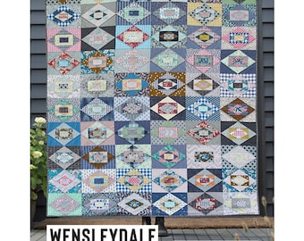 Wensleydale Acrylic Template featured in Quilt Recipes Pattern Book by Jen Kingwell Designs