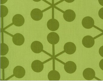 SALE Quotation by Zen Chic - Asterisk Pistachio 1731 22 Select a Size - FQ, half or full yard- Moda Cotton Quilt Fabric K
