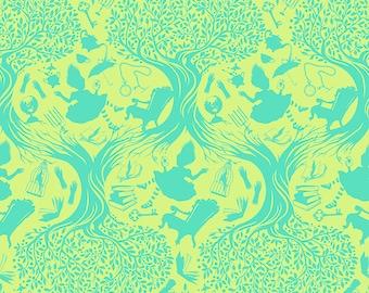 Curiouser & Curiouser by Tula Pink - Down the Rabbit Hole Bewilder - TP166.BEWILDER Cotton Quilt Fabric - Fat Quarter fq BTHY Yard