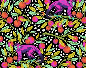 Monkey Wrench by Tula Pink for Free Spirit - Monkey Wrench - Guava - Cotton Quilt Fabric - Choose Your Size 8-21B