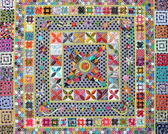 Midnight at the Oasis Quilt Pattern by Jen Kingwell Designs
