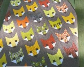 Fancy Fox by Elizabeth Hartman - Print Pattern