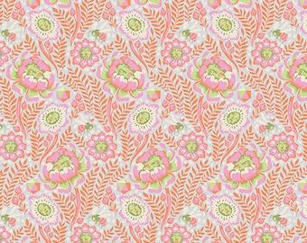 Spirit Animal by Tula Pink for Free Spirit - Petal Heads - Star Light - Cotton Quilt Fabric 8-21B
