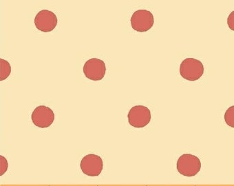 Sugarplum by Heather Ross for Windham Fabrics - Spot - Red - 50169-4 - 1/2 Yard Cotton Quilt Fabric 921