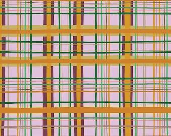 Earth Made Paradise by Kathy Doughty Free Spirit Fabrics - Warm Plaid MO039.WARM - Cotton Quilt Fabric - Fat Quarter FQ BTHY Yard K