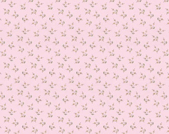 SALE The Dress by Laura Heine for Free Spirit Fabrics - Blossom - Pink - 1/2 Yard Cotton Quilt Fabric