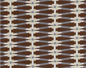 True Colors by Jenean Morrison for Free Spirit - Ribbon Brown  - 1/2 yard cotton quilt fabric 516