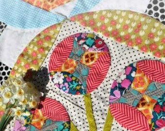 Bring Me Flowers Quilt Pattern Book by Jen Kingwell Designs